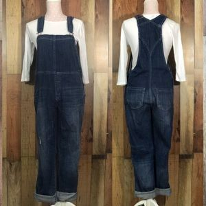 Design Lab Skinny Slouch overalls xs